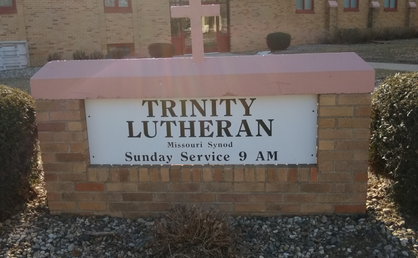 Church sign